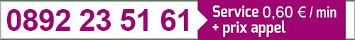numéro de téléphone 0892 235 161 du cabinet KLD Voyance