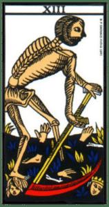 carte tarot la mort