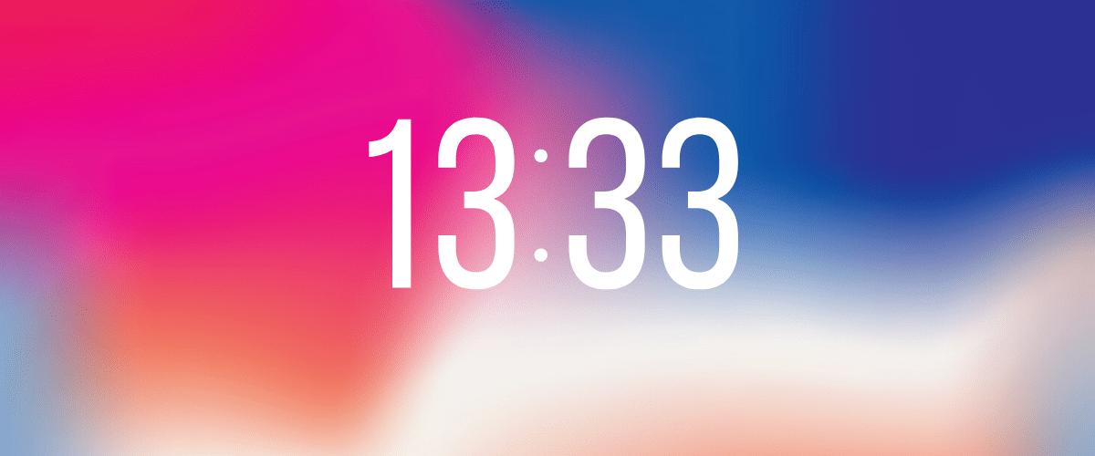 13h33