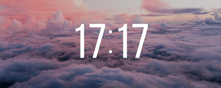 17h17