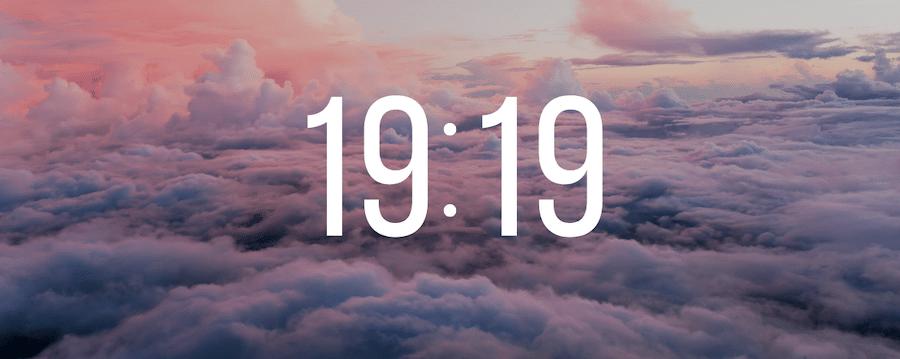 19h19