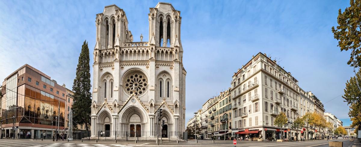 Basilique Notre Dame de Nice, vue panoramique