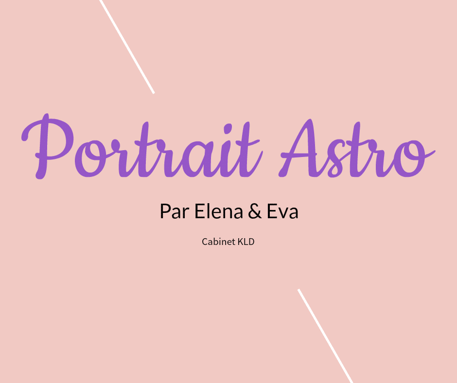 portrait-astre CABINET KLD