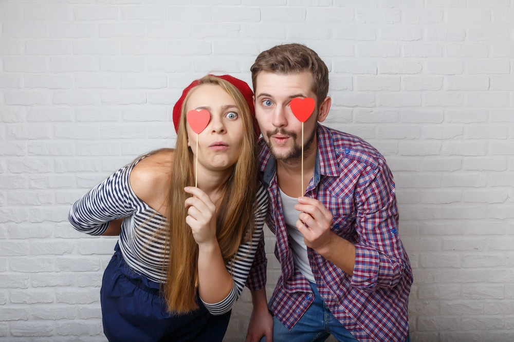 couple à la saint valentin
