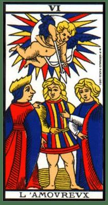 carte tarot l'amoureux
