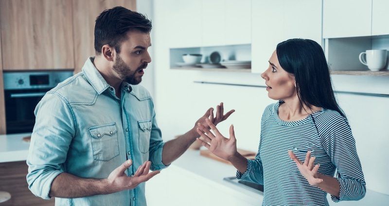 couple en désaccord