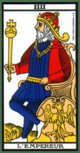 carte tarot l'empereur