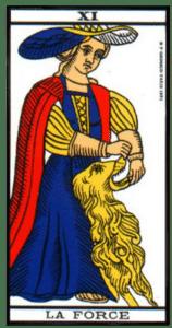 carte tarot la force
