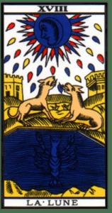 carte tarot la lune
