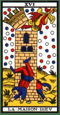 carte tarot maison dieu