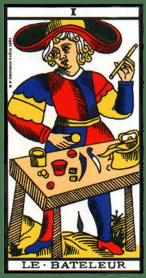 carte tarot le bateleur