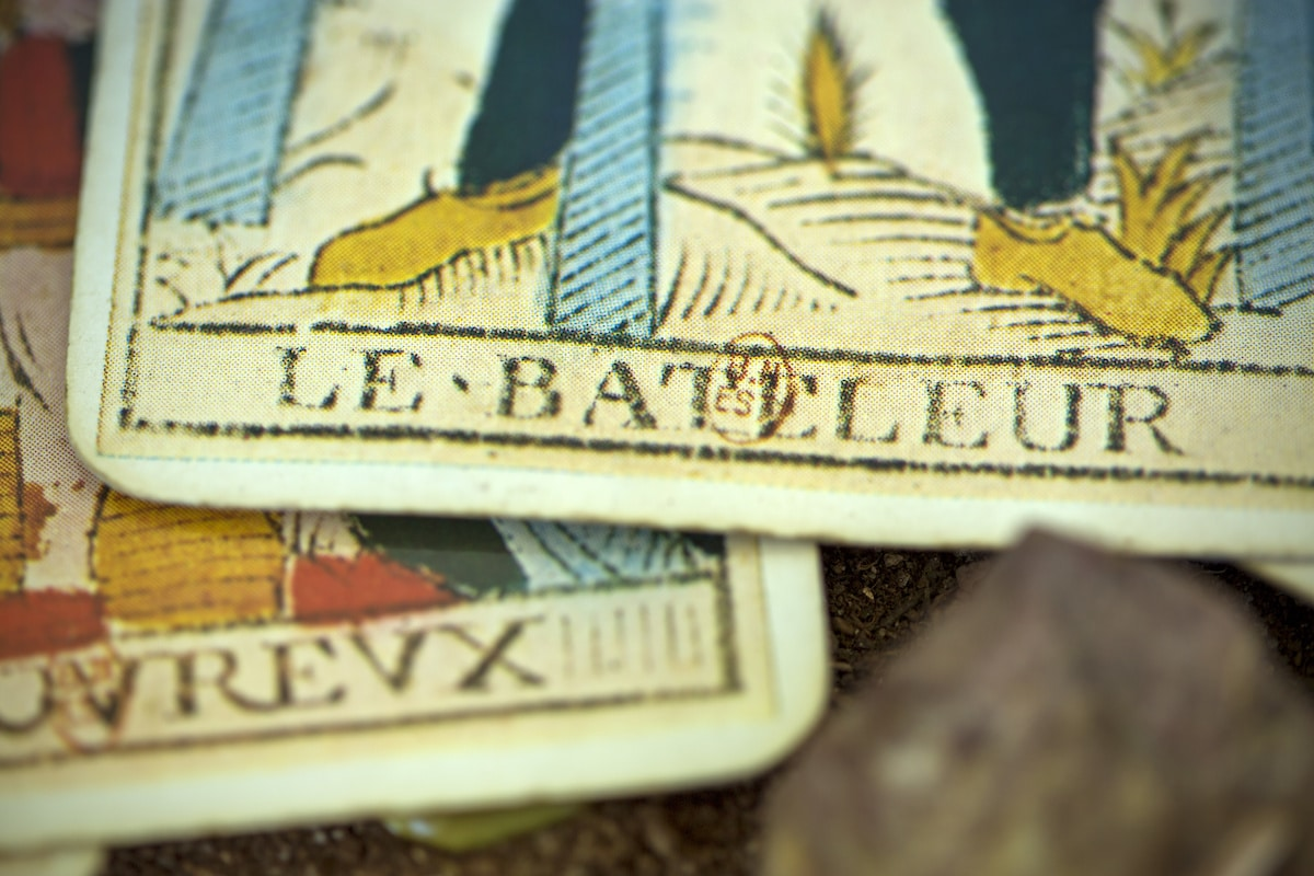 carte du Tarot de Marseille