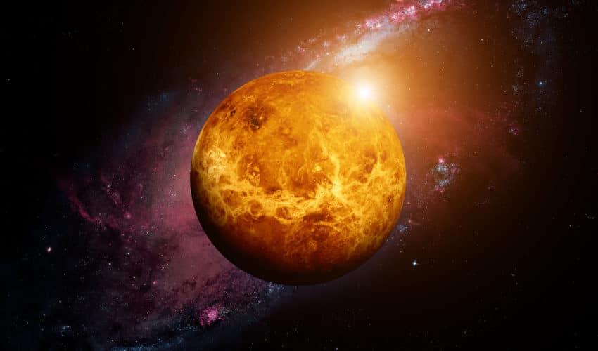 planète venus retrograde